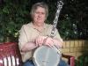 Mr.Eugene O\'Brien mit seinem neuen Instrument